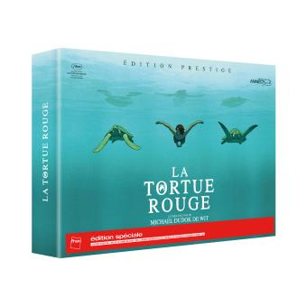 La Tortue rouge Edition spéciale Fnac Collector Combo Blu-ray DVD