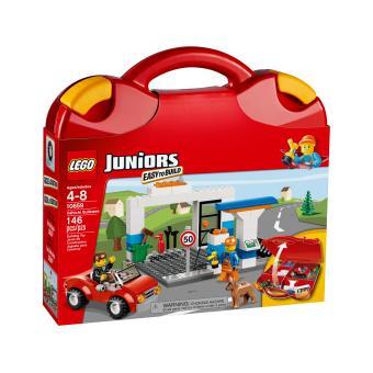 lego juniors 10659 valise de construction gar on lego achat prix fnac. Black Bedroom Furniture Sets. Home Design Ideas