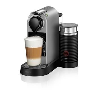 expresso capsule krups nespresso citiz milk yy2732fd 1260w argent achat prix fnac. Black Bedroom Furniture Sets. Home Design Ideas