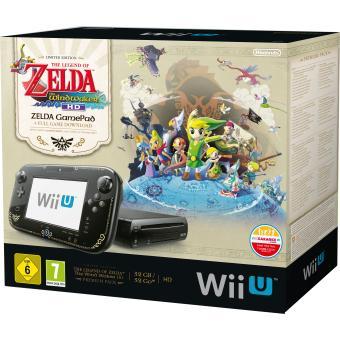 Console wii u premium zelda wind waker pack 32 go nintendo - Console wii prix carrefour ...