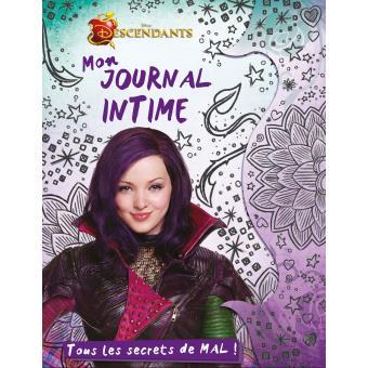Descendants tous les secrets de mal mon journal - Le journal des femmes cuisine mon livre ...