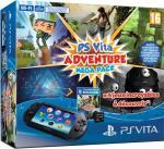 Console PS Vita Noire + Pack Adventure Games + Carte Mémoire 8 Go