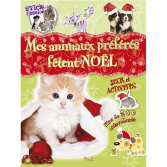 Mes animaux préférés fêtent Noël
