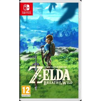 The Legend of Zelda : Breath of the Wild Nintendo Switch