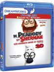 M. Peabody et Sherman : Les Voyages dans le temps Combo Blu-Ray 3D + DVD (Blu-Ray)