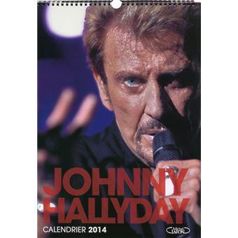 Calendrier 2014 Johnny Hallyday