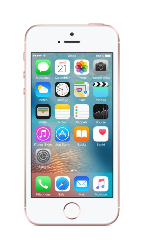 Apple iPhone SE 64 Go 4 Or Rose