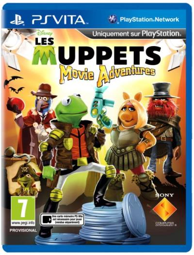 Muppets Movie Adventures PS Vita  - PS Vita