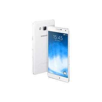 samsung galaxy a7 16 go blanc smartphone sous android os samsung