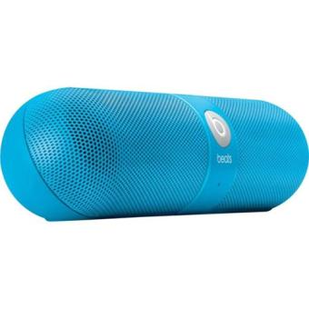 enceinte beats by dre v2 pill bleu mini enceintes top. Black Bedroom Furniture Sets. Home Design Ideas