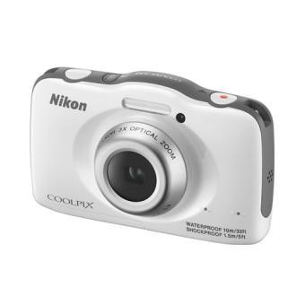 compact nikon coolpix s32 blanc appareil photo num rique. Black Bedroom Furniture Sets. Home Design Ideas