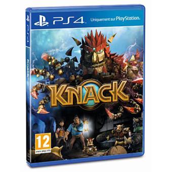 knack ps4 sur playstation 4 jeux vid o top prix. Black Bedroom Furniture Sets. Home Design Ideas