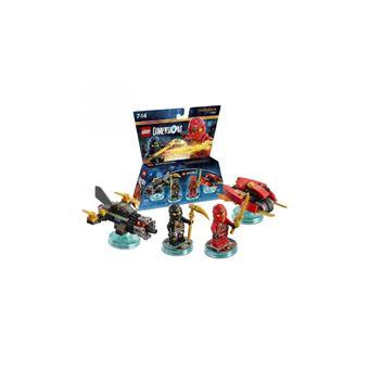 figurines lego dimensions team pack kai cole ninjago sur jeux vid o top prix. Black Bedroom Furniture Sets. Home Design Ideas