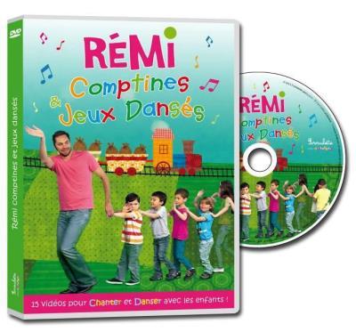 Comptines et jeux danses DVD