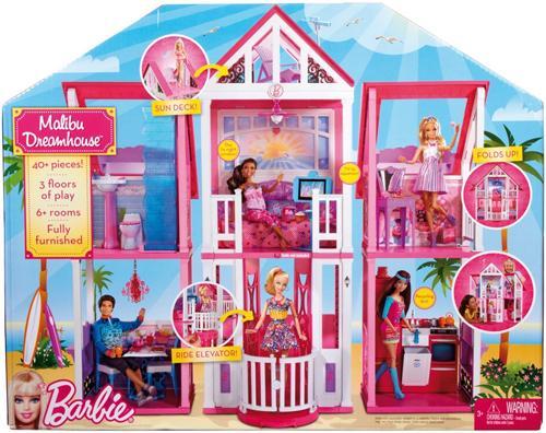 Barbie super casa bonecas comprar na - Supercasa de barbie ...