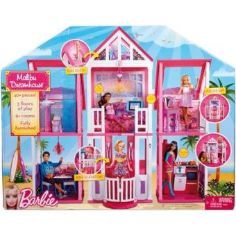 barbie super casa bonecas jogos e brinquedos compre na. Black Bedroom Furniture Sets. Home Design Ideas