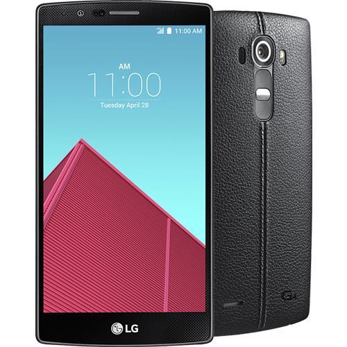 lg g4 h815 32gb leather black smartphone android. Black Bedroom Furniture Sets. Home Design Ideas