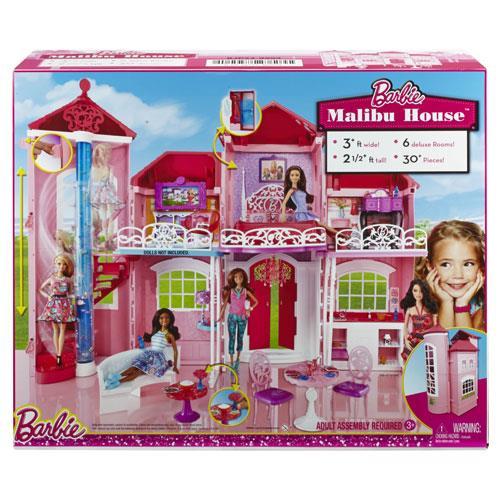 Barbie casa de malibu acess rios bonecas comprar na for Barbie casa malibu