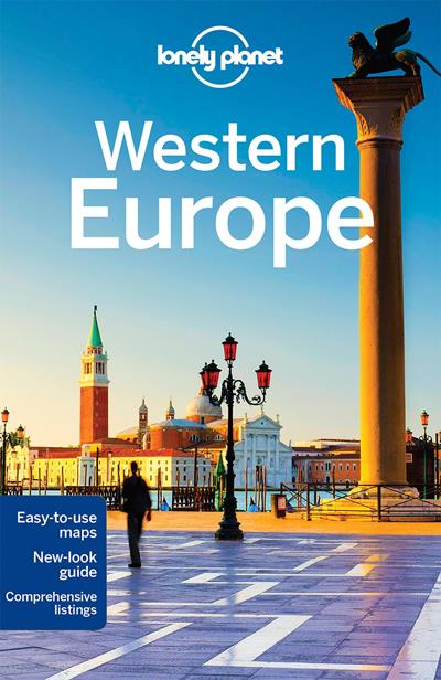 Western europe lonely planet travel guide v rios compre for Plante western