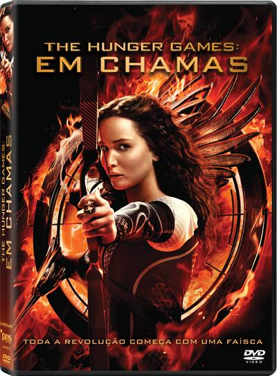 Passatempo DVD The Hunger Games: Em Chamas