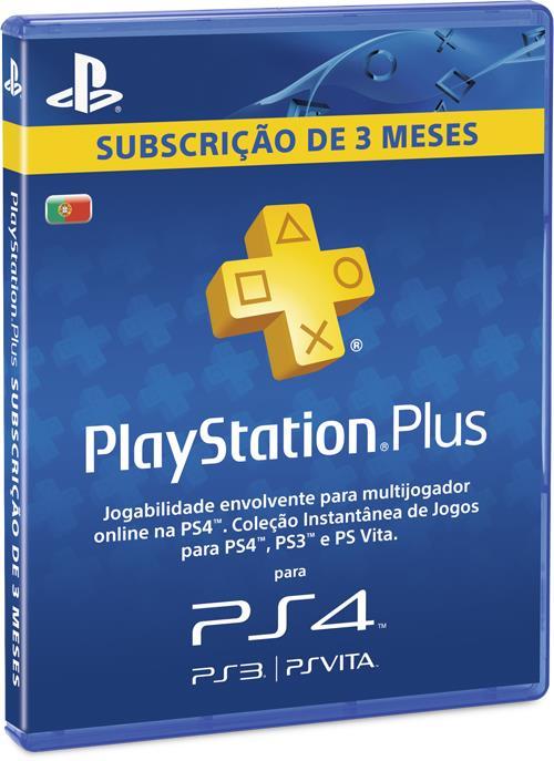 Playstation plus subscri o 3 meses acess rios ps4 comprar na - Psn plus 3 meses ...