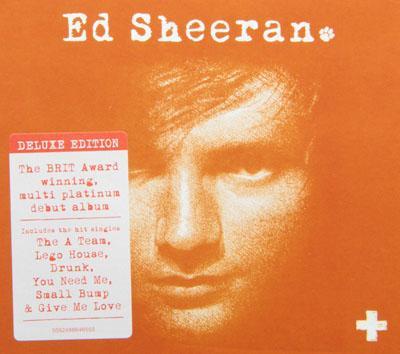 Ed Sheeran Plus ...X Album Cover Ed Sheeran