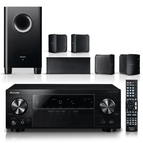 pioneer kit av htp 204 vsx 529k s hs100 kit home cinema comprar na. Black Bedroom Furniture Sets. Home Design Ideas