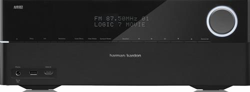 harman kardon avr 370 amplificador home cinema comprar na. Black Bedroom Furniture Sets. Home Design Ideas