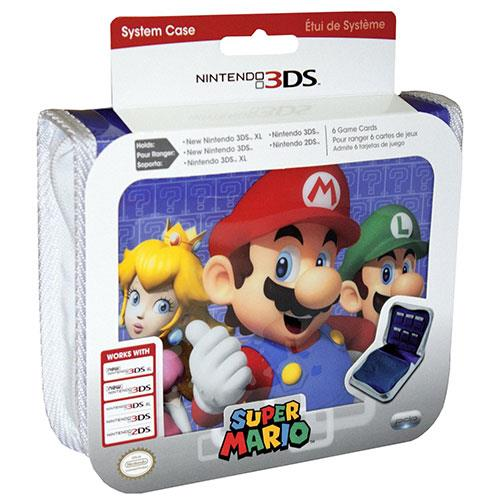 Pdp bolsa super mario family all new 3ds xl 3ds xl for Housse 2ds mario
