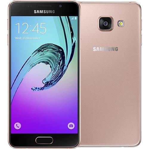 samsung galaxy a3 2016 a310f rose gold smartphone android comprar na. Black Bedroom Furniture Sets. Home Design Ideas