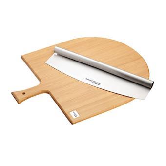 Kitchen craft conjunto t bua cortador pizza utens lios for Utensilios pizza