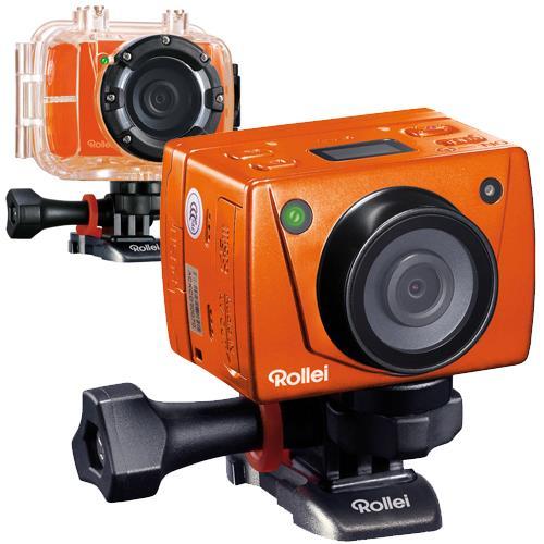rollei action cam 5s summer edition laranja action cam. Black Bedroom Furniture Sets. Home Design Ideas