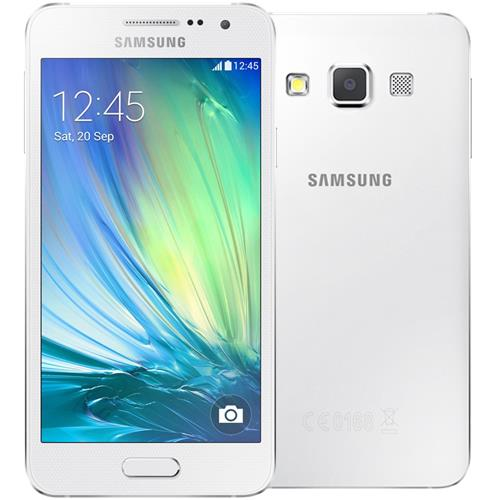 samsung galaxy a3 lte a300 pearl white smartphone. Black Bedroom Furniture Sets. Home Design Ideas
