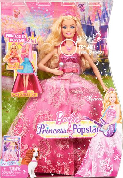 Jogos E Brinquedos Barbie Tori Princesa A Pop Star