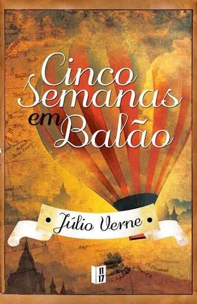Cinco Semanas em Balão by Jules Verne