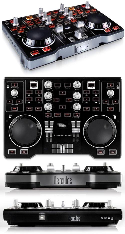 Hercules dj control mp3 e2 controlador dj comprar na - Table de mixage hercules dj control mp3 e2 ...