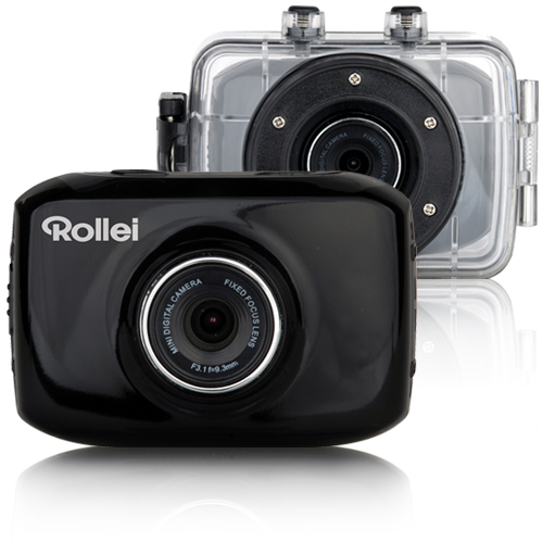 rollei action cam youngstar preto action cam comprar. Black Bedroom Furniture Sets. Home Design Ideas
