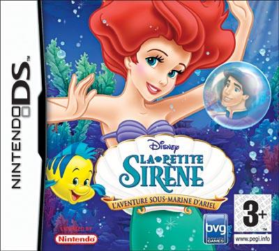 La Petite Sirène - l'Aventure Sous-Marine d'Ariel - Nintendo DS