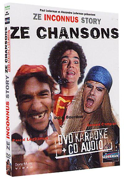 Ze Inconnus Story - Ze chansons