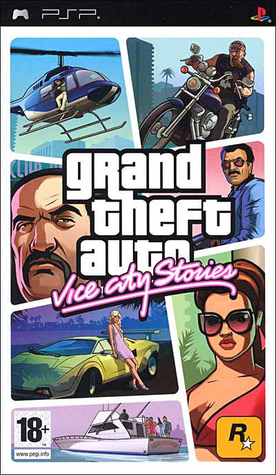 Grand Theft Auto Vice City Stories - PSP