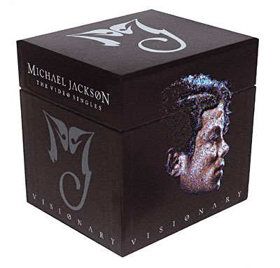 visionary the video singles coffret 20 dualdisc singles cd maxi single en michael jackson. Black Bedroom Furniture Sets. Home Design Ideas