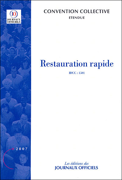 Convention Collective Restauration Rapide Idcc