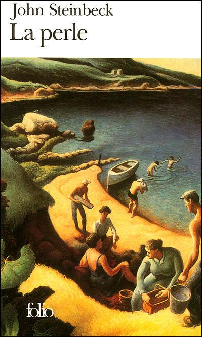 La perle de Steinbeck dans À la une 9782070364282