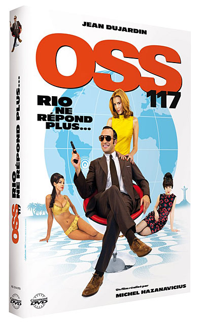 Oss 117 rio ne r pond plus dvd dvd zone 2 michel for Jean dujardin alcool