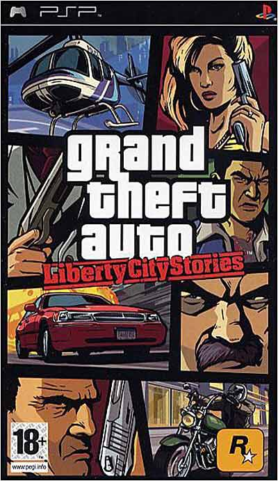 GTA - Grand Theft Auto - Liberty City Stories - PSP