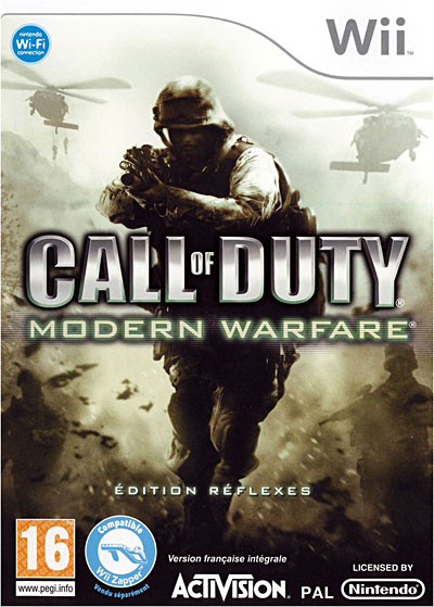 Call of Duty : Modern Warfare - Nintendo Wii