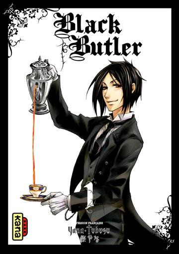 """Résultat de recherche d'images pour """"black butler tome 1"""""""