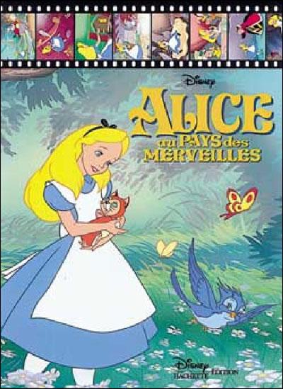 Alice au pays des merveilles cartonn walt disney - La cuisine d alice au pays des merveilles ...