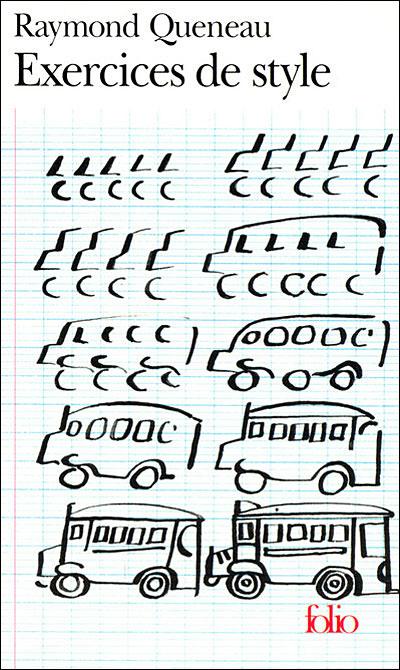 Résultats de recherche d'images pour «exercices de style raymond queneau»