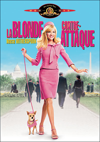 affiche film La Blonde contre-attaque